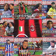 90 minutos de fútbol revista cartel de imagen de reproductor de A4 AC Milan-Varios