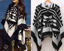 AU SELLER Blanket Poncho Hood Cloak Cape Parka Coat Oversize Warm SHAWL t046
