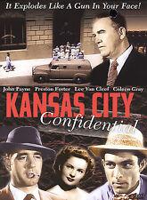Kansas City Confidential DVD Starring Lee Van Cleef John Payne Preston Foster