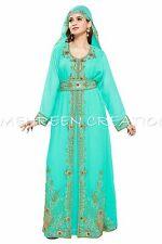 MAGHRIBI DUBAI ABAYA JALABIYA JILBAB ISLAMIC ARABIAN WOMEN CLOTHING EDH  5030