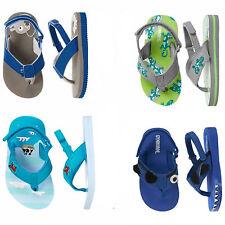 Gymboree Boys Flip Flops Sandals Shark, Fish,Gecko,Swim Shop NWT 03 04 5 6 7 8