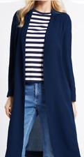 Ex Marks and Spencer M&S Ladies Longline Crepe Duster Coat Jacket  BNWOT