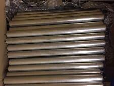 """Steel Conveyor Roller 1.9"""" Diameter 27"""" Between Frame 7/16"""" Hex - NEW"""