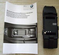 BMW Brand Genuine Bluetooth Motorola V8 V9 Adapter Cradle NEW