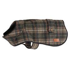 Heritage Green Check Tartan Dog Coat