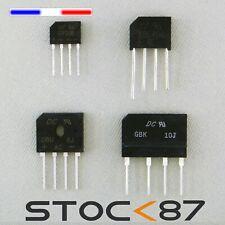 Pont de diodes  GBK10J KBL106 GBU8J GBU15J GBP206 KBL106 DB107 Rectifier Bridge