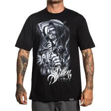Sullen Art Collective Clothing T-Shirt - Silver Reaper Sensenmann Tod Skelett