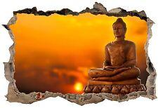 Stickers 3D Trompe l'oeil Bouddha réf 23765 23765 Art déco Stickers