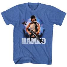 Rambo  Wild Blue Yonder Mens Crew Tee T Shirt