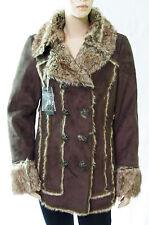Manteau veste DDP marron femme