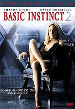 Basic Instinct 2 (DVD, 2006) Sharon Stone David Morrissey Obsession Murder Movie