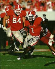 Isaiah Crowell Hand Signed Georgia Bulldogs 8X10 Photo W/Coa