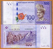 Malaysia, 100 Ringgit, ND ( 2012), P-55, UNC > AA-Prefix