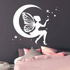 12224 Pegatina pared Elfos Prinzessin luna estrellas Dormitorio Infantil