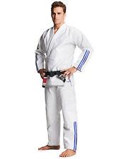 """adidas BJJ Anzug Gi """"Quest"""" weiß JJ600, Brazilian Jiu-Jitsu, NEUE KOLLEKTION"""