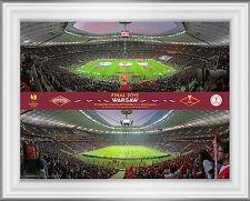 Europa League Final 2015 Official Framed Photo Range UEFA Sevilla V FC Dnipro