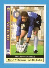 Figurina/CARD-MUNDICROMO CALCIO 2001 n.195- MANITTA - LECCE