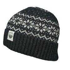 Merinowolle Strickmütze Damen Herren Beanie Merino Mütze Woolona Wintermütze