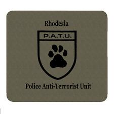 PATU Police Anti-Terrorist Unit, Personalised Mouse Mat