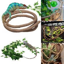 1/1.5/2.2/3m Reptile Flexible Jungle Vine Bendable Pet Climb Habitat Decoration