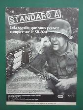 7/1980 PUB SYLVANIA SYSTEMS TELEPHONE TACTIQUE SB-3614 US ARMY COLT M16 A1 AD