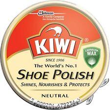 Kiwi NEUTRO lucido da Scarpe 50 ml LATTA - MULTI PACK AFFARE OFFERTA 1 - 10