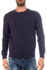 Felpa Armani Jeans AJ Sweatshirt Hoodie -25% Uomo Blu 6X6M266JPAZ-1547