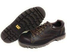 Mens Caterpillar Cat Protocal P73648 Oxford Oil Resistant Bark Brown Work Shoes