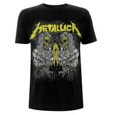 UFFICIALE Metallica-Clinica-Uomo Nero T-shirt