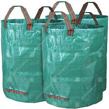 GardenersDream 3 x Round Garden Waste Bags - Heavy Duty Reinforced Refuse Sacks