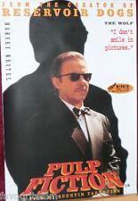 Cinema Poster: PULP FICTION 1994 (Wolf -  Harvey Keitel) Quentin Tarantino