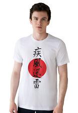Japanese t shirt-lightning Yojijukugo kanji yoga japon calligraphie anime manga