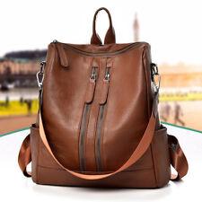 Women Ladies Leather Backpack Travel Handbag School Shoulder Laptop Shoper Bag