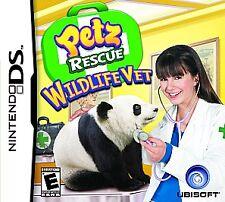 Petz Rescue Wildlife Vet GAME Nintendo DS DSI XL LITE 3 3DS 2 2DS PETS