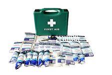 First Aid Kits - HSE 1-10, 1-20, 1-50 - BSI Kits All Sizes, Workplace + Refills