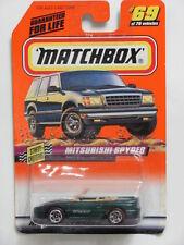 MATCHBOX 1998 MITSUBISHI SPYDER #69 OF 75 STREET SRUISERS
