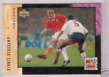 Rare Golden Boot UD WC '94 Dennis Bergkamp Trading Card