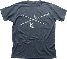 Carrefour Blues T-Shirt Robert Johnson Clapton Vai Satriani T-shirt gris FN9158