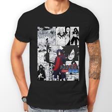 Madara Uchiha Manga Strip Naruto Anime Manga Unisex Tshirt T-Shirt Tee ALL SIZES
