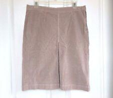 MOTHER Jeans 9221-125 'The Inverted Pleat Skirt' Velvet Skirt, 27 30 31 - Mauve
