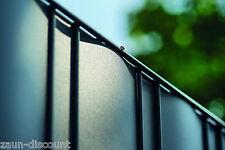 Premium hart Sichtschutzstreifen Zaun Doppelstabmatten Gitterzaun TOP 3 Farben