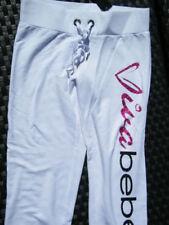 Bebe pants white sweats capri 182371 VIVA