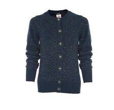 $3050 NEW CHANEL Turquoise Lurex Sparkle Cashmere CARDIGAN SWEATER Jacket 36 38