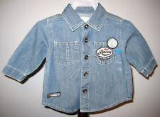 New THE CHILDREN'S PLACE Boys Denim Work Shirt
