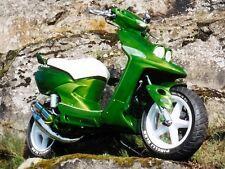 Peinture Auto/Moto: 0,5 L base à vernir Vert kawasaki CANDY LIME GREEN nacré