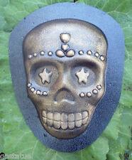 skull plastic mold plaster cement mould