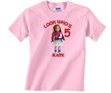 Personalized Custom American Girl Mia Birthday Shirt Gift