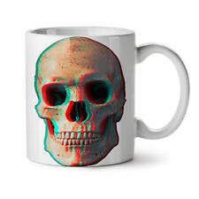 3D cranio di scheletro umano NUOVO Tazza Da Caffè Tè Bianco 11 OZ | wellcoda