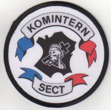 "KOMINTERN SECT""Aufnäher""Oi!/SKIN/WAY OF LIFE/PATCH/Oi!/SKA/SPIRIT OF 69/FRANCE"
