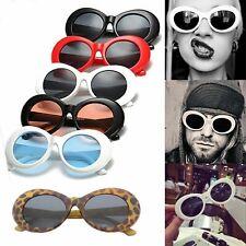 Kurt Cobain Clout Goggles Rapper Glasses Unisex Sunglasses White Oval Goggles